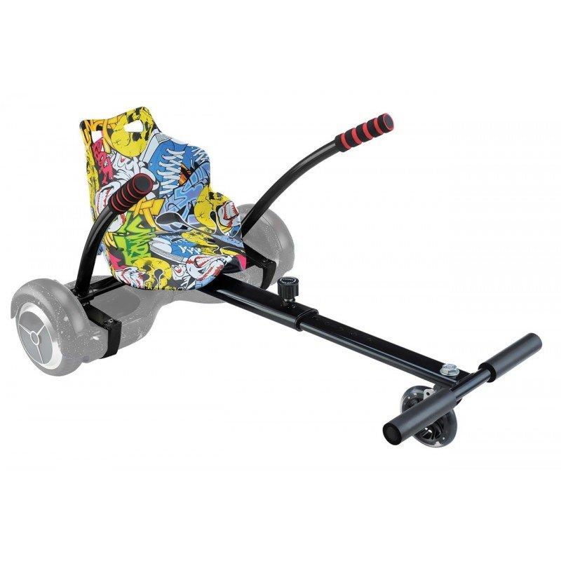 UrbanGlide Kart Pilot Kit de Karting para Hoverboard Multicolor