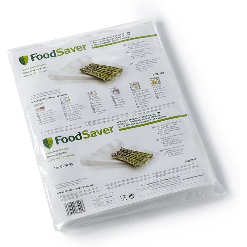 FoodSaver FSB3202-I Pack 32 Bolsas Grandes