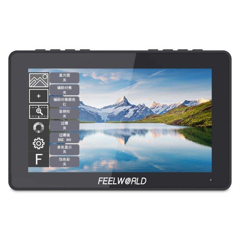 "FeelWorld F5 Pro Monitor 5.5"" Para Vídeo Profesional 4K"