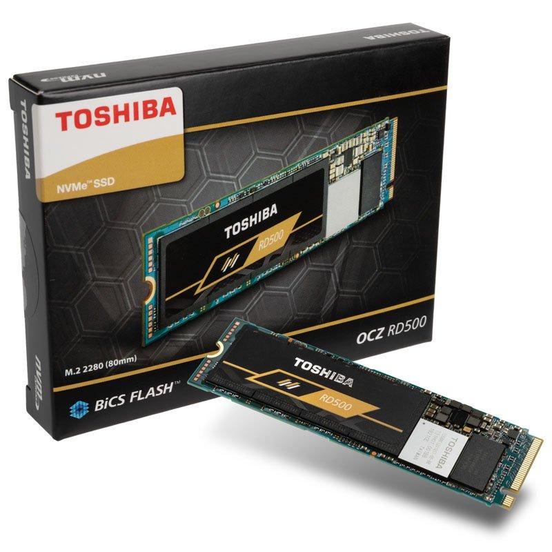 Toshiba RD500 NVMe SSD 500GB M.2 2280 PCIe 3.0 x4