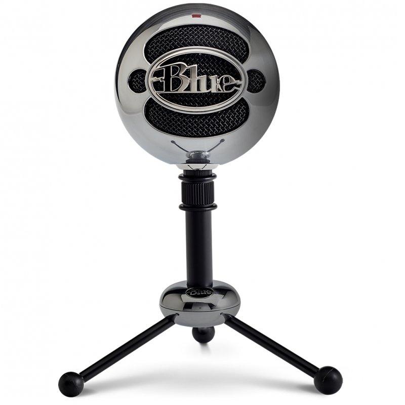 Blue Microphones Snowball Micrófono USB Aluminio Con Dos Patrones De Captación Versátiles