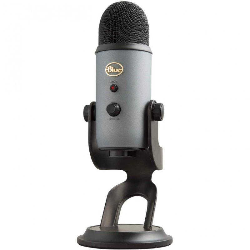 Blue Microphones Yeti Micrófono USB Gris Pizarra para Grabación y Transmisión en PC