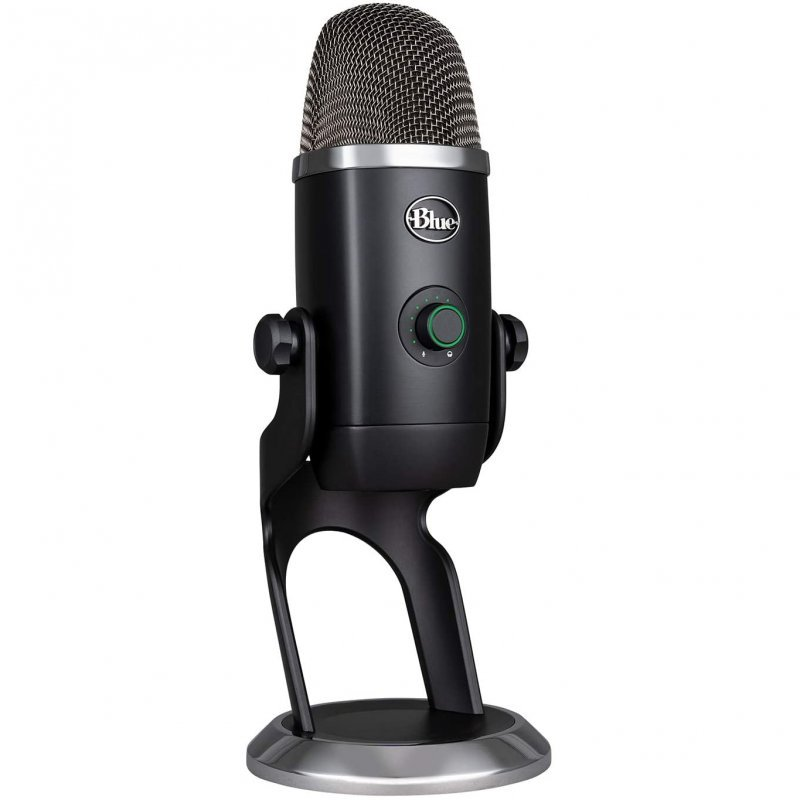 Blue Microphones Yeti X Micrófono Condensador USB Profesional con Indicadores de Alta Resolución