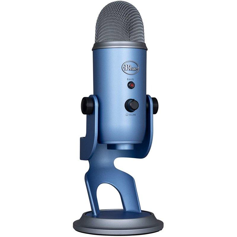 Blue Microphones Yeti Micrófono USB Sunset Blue para Grabación y Transmisión en PC