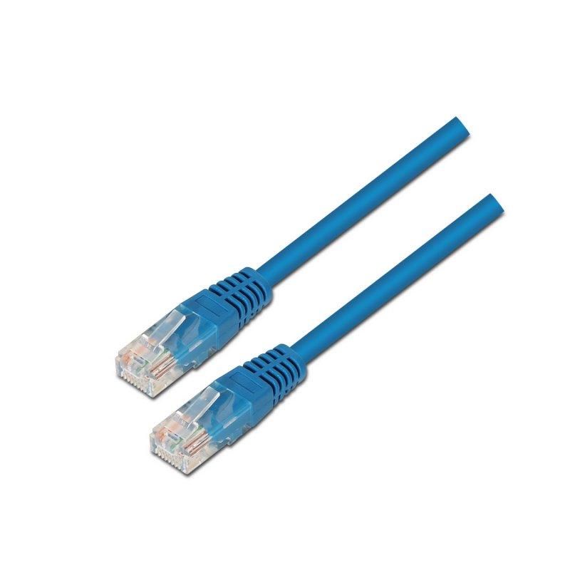 Aisens Cable De Red RJ45 UTP AWG24 Cat.6 1m Azul