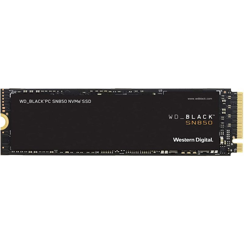 WD Black SN850 2TB SSD NVMe M.2 PCIe 4.0 sin Disipador Térmico