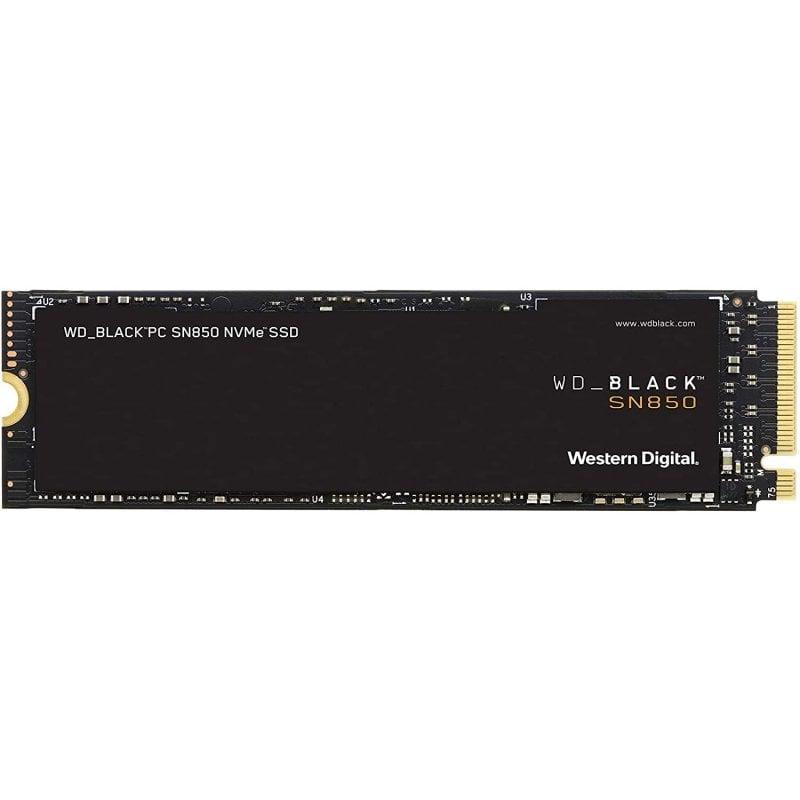 WD Black SN850 500GB SSD NVMe M.2 PCIe 4.0 sin Disipador Térmico