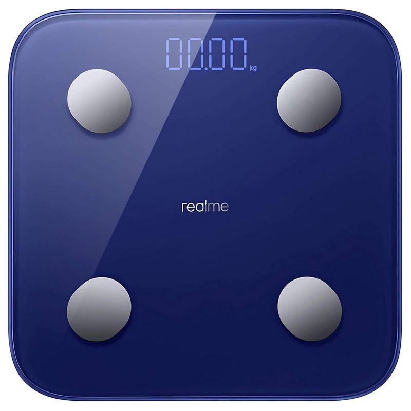 Realme Smart Scale Báscula De Baño Inteligente Azul