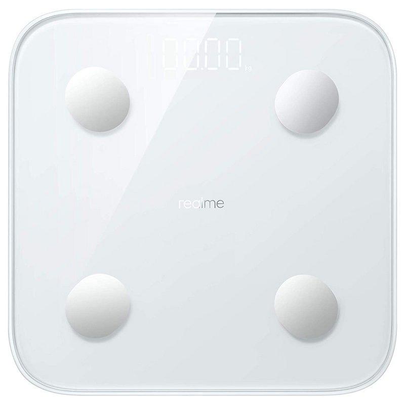 Realme Smart Scale Báscula De Baño Inteligente Blanca