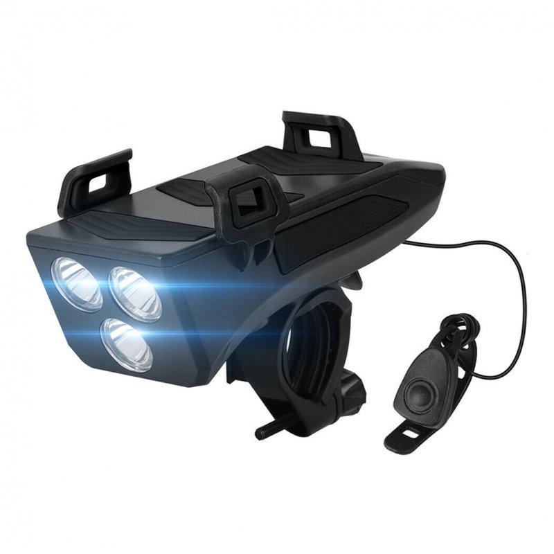 Imperii Luz Frontal con Claxon y Powerbank para Bicicleta