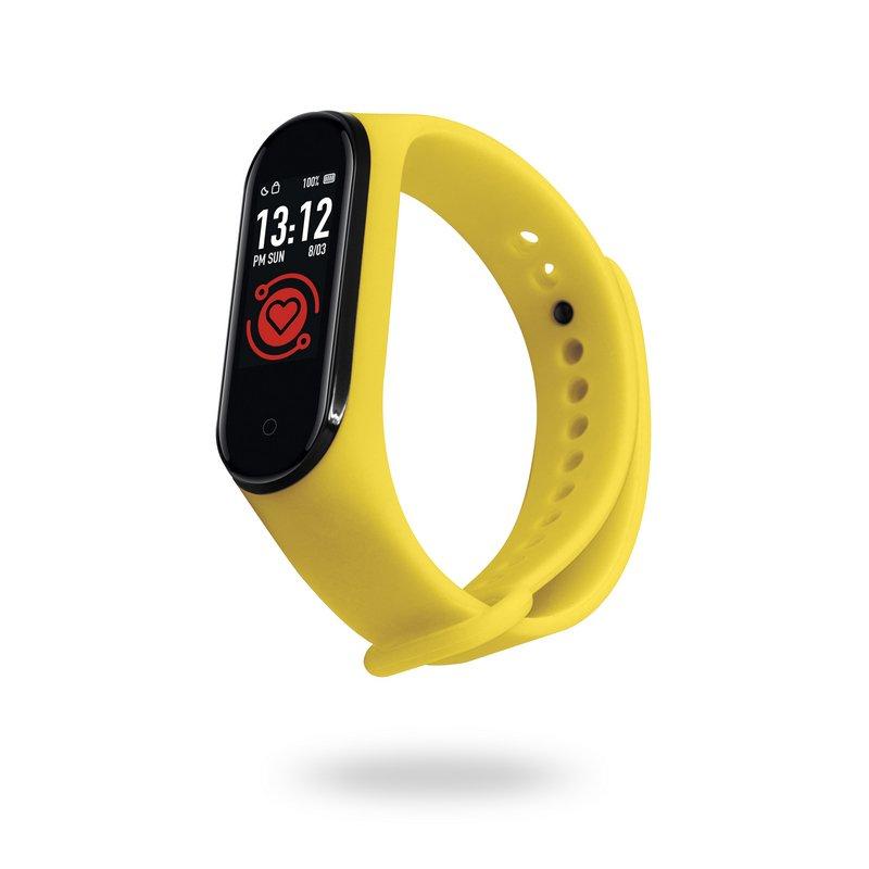 Unotec Smartband 6T Pulsera de Actividad Amarilla