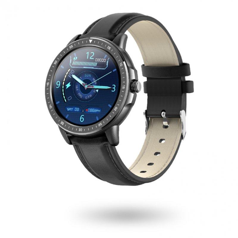Watchuu Round Pro II Reloj Bluetooth Negro