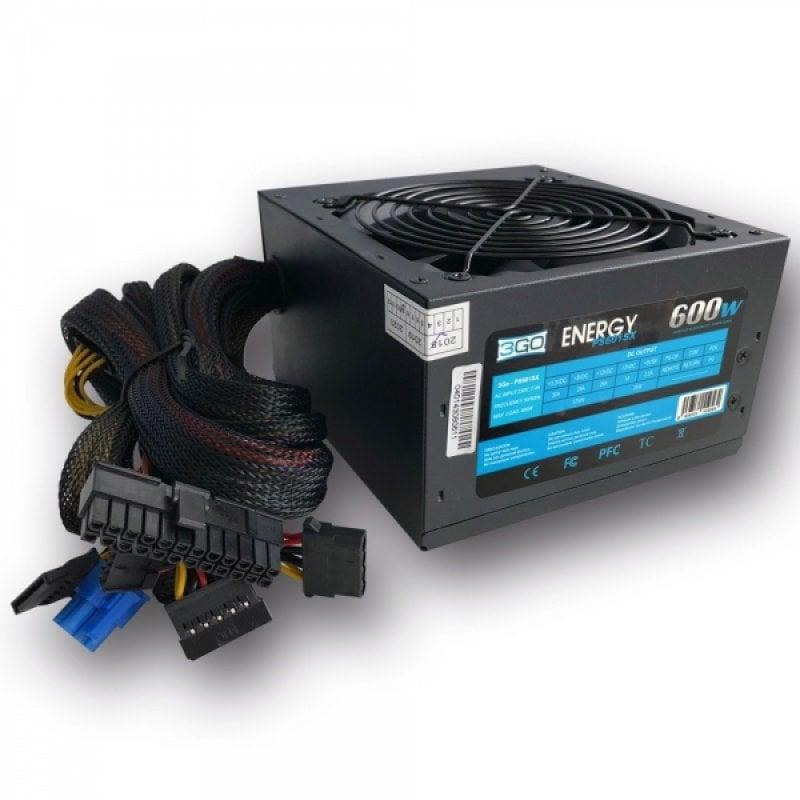 3Go PS6001SX Fuente de Alimentación 600W