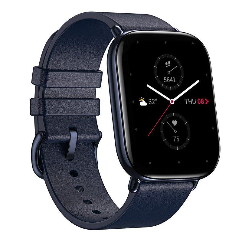 Amazfit Zepp E Smartwatch Cuadrado Azul