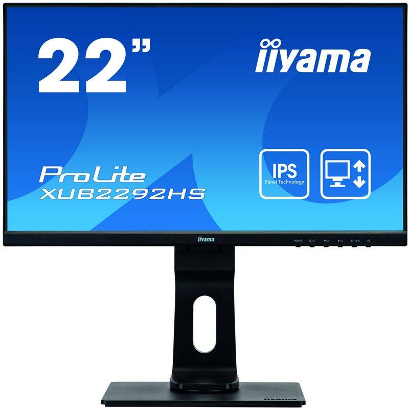 "Monitor Iiyama XUB2292HS-B1 21.5"" LED FullHD"