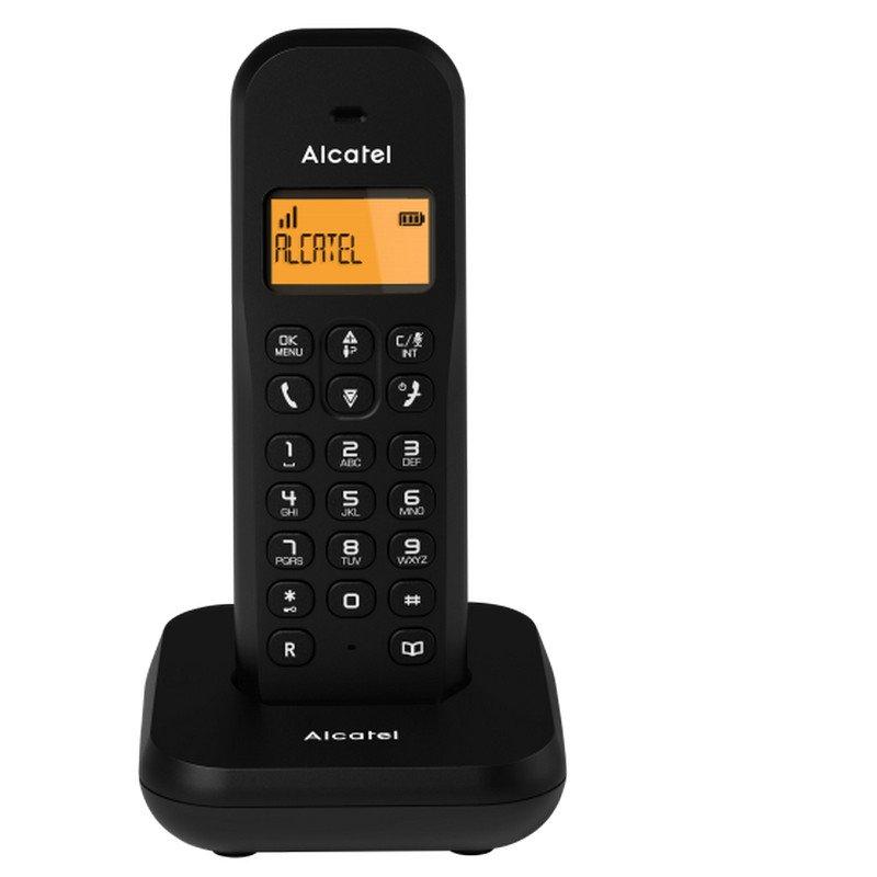 Alcatel E155 Teléfono Inalámbrico DECT Negro