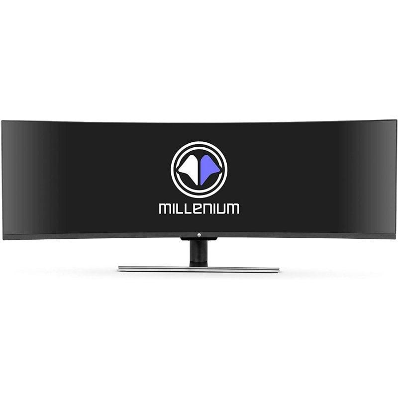 "Monitor Millenium MD49 DQHD 49"" QLED DQHD 120Hz Curvo"