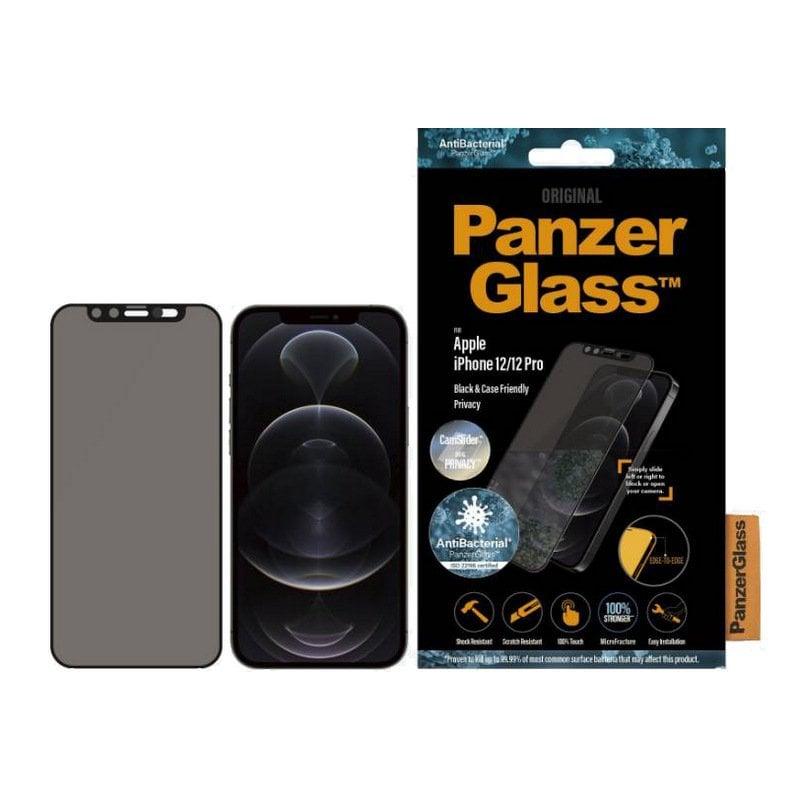 PanzerGlass P2714 Protector de Pantalla para iPhone 12/12 Pro Negro