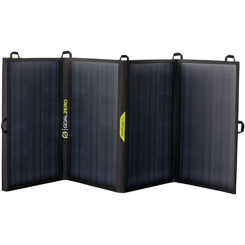 goal zero nomad 50 panel solar