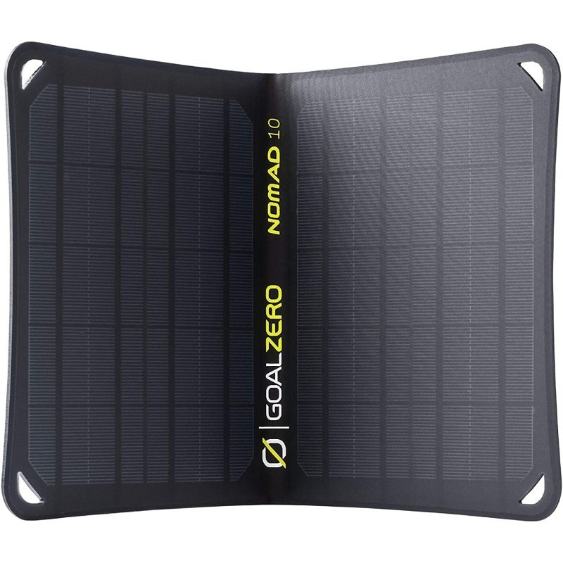 goal zero nomad 10 panel solar