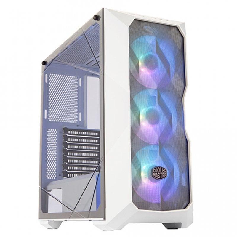 Cooler Master MasterBox TD500 ARGB Blanca USB 3.0 con Ventana