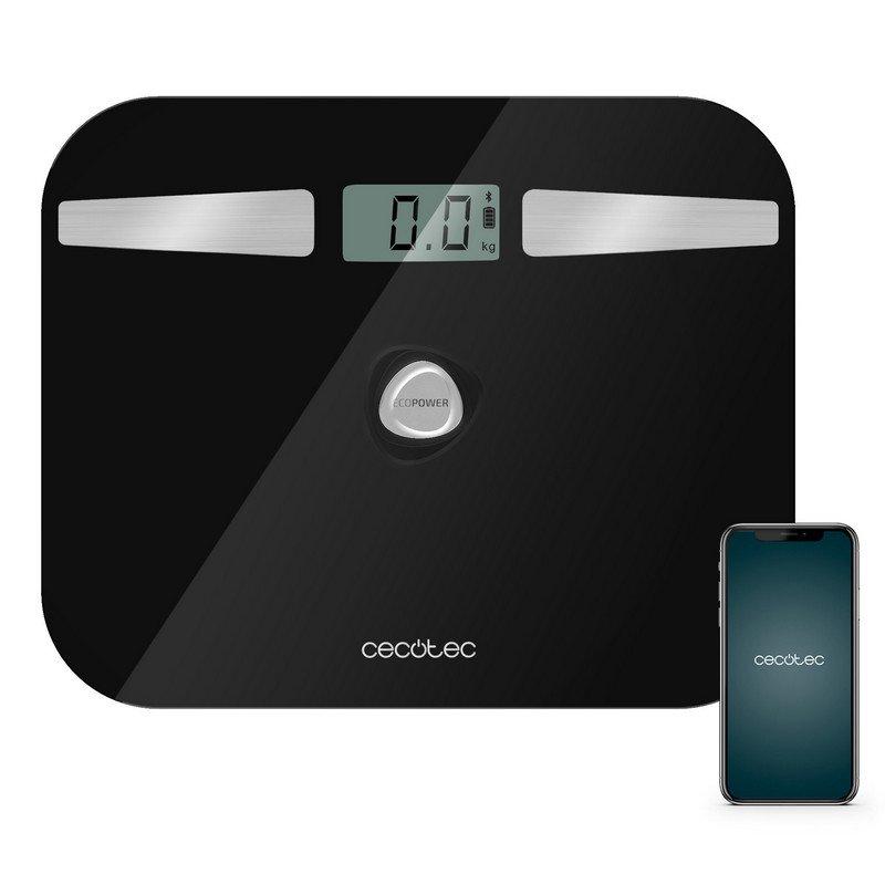 Cecotec Surface Precision EcoPower 10200 Smart Healthy Black Báscula de Baño
