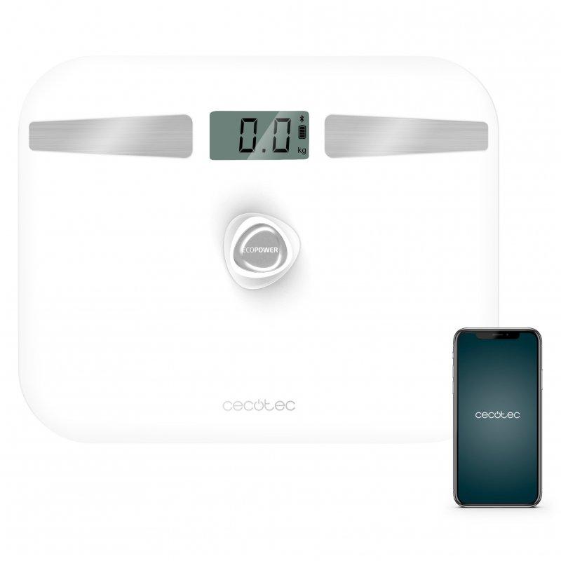 Cecotec Surface Precision EcoPower 10200 Smart Healthy White Báscula de Baño