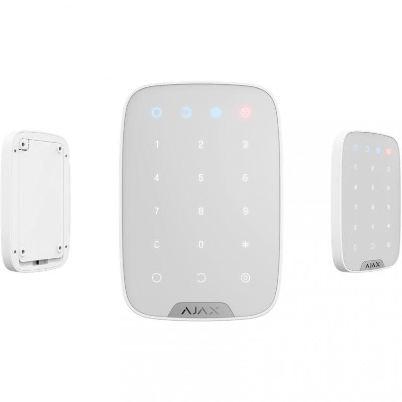 Ajax KeyPad Teclado Inalámbrico Blanco - Smarthome-Alarmas-Ajax