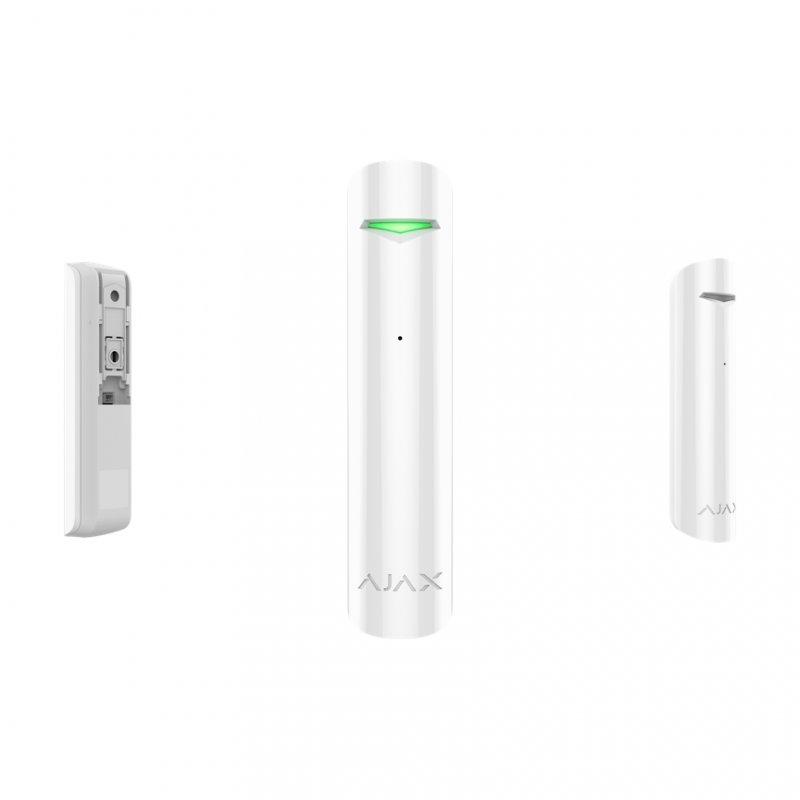 Ajax GlassProtect Detector de Rotura de Cristal Blanco - Smarthome-Alarmas-Ajax