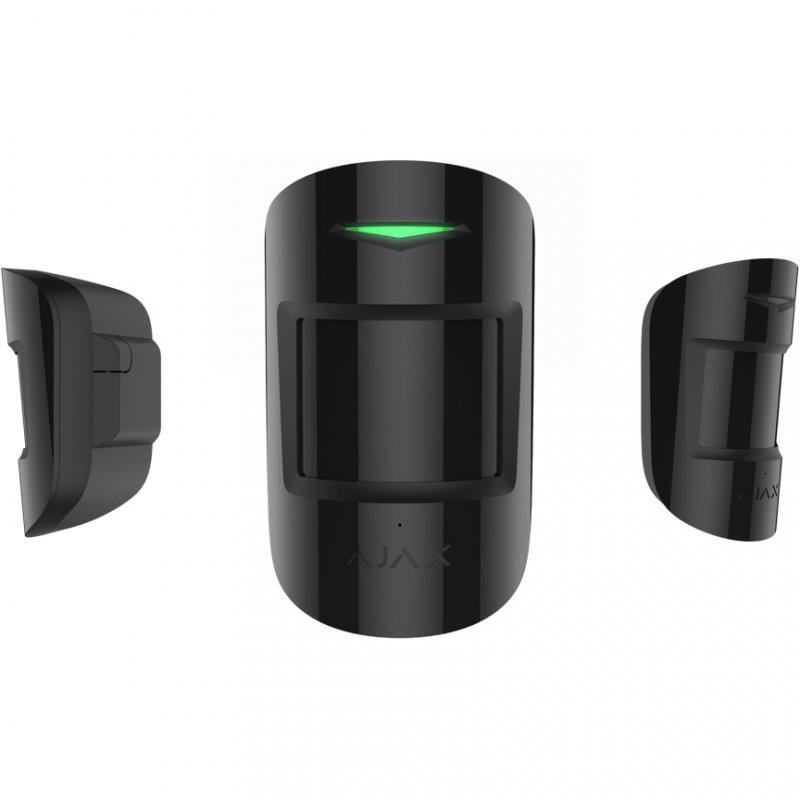 Ajax CombiProtect Detector de Movimiento PIR Negro - Smarthome-Detectores de movimiento-Ajax