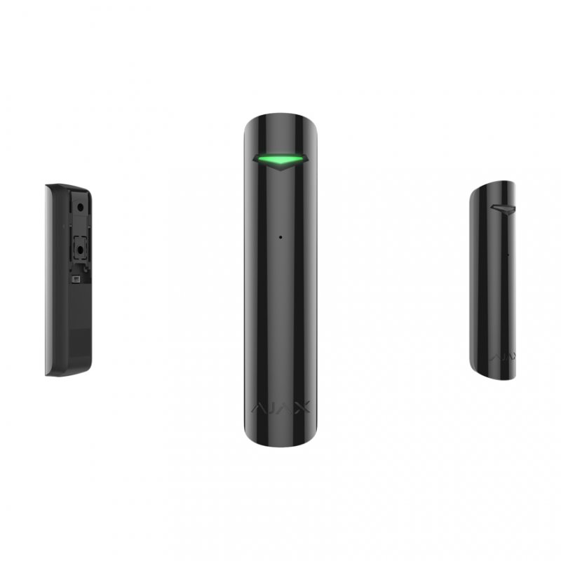 Ajax GlassProtect Detector de Rotura de Cristal Negro - Smarthome-Alarmas-Ajax
