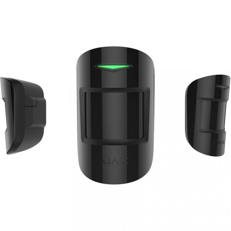 Ajax MotionProtect Plus Detector de Movimiento PIR/Microondas Negro - Smarthome-Detectores de movimiento-Ajax