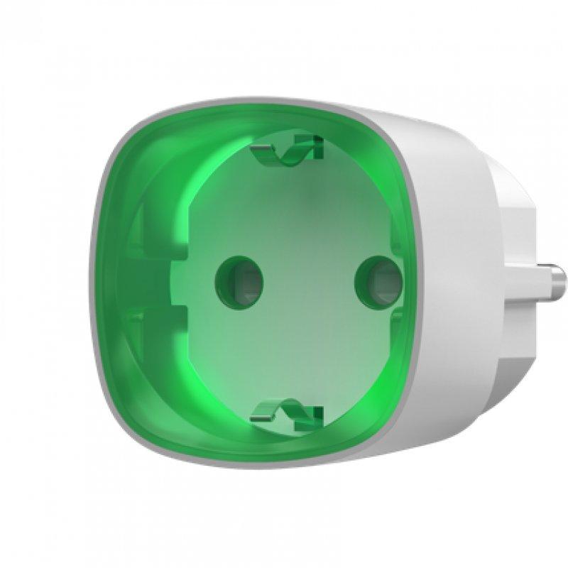 Ajax Socket Enchufe Inteligente Blanco - Smarthome-Alarmas-Ajax