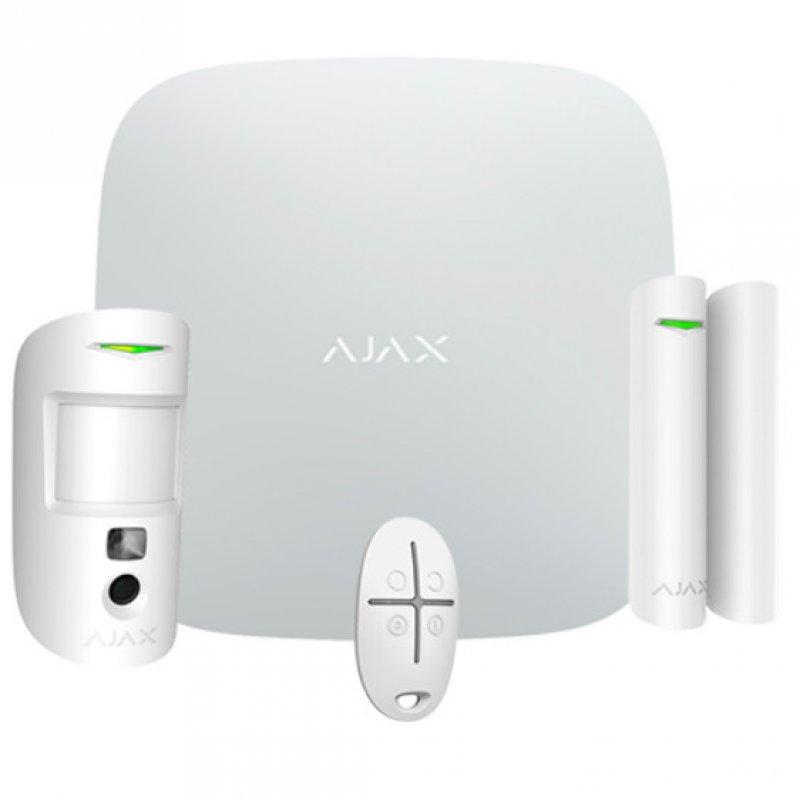 Ajax Kit de Alarma Inalámbrica Profesional Grado 2 con Cámara PIR - Smarthome-Alarmas-Ajax