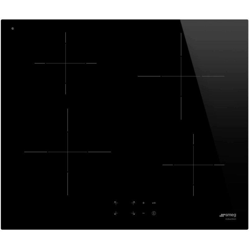 Smeg SI2641D Placa de Inducción 4 Zonas 60cm Negra - Electrodomésticos y Hogar-Encimeras-Smeg