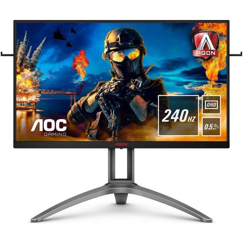 "Monitor AOC AG273QZ 27"" LED QHD 240Hz Freesync Premium Pro"
