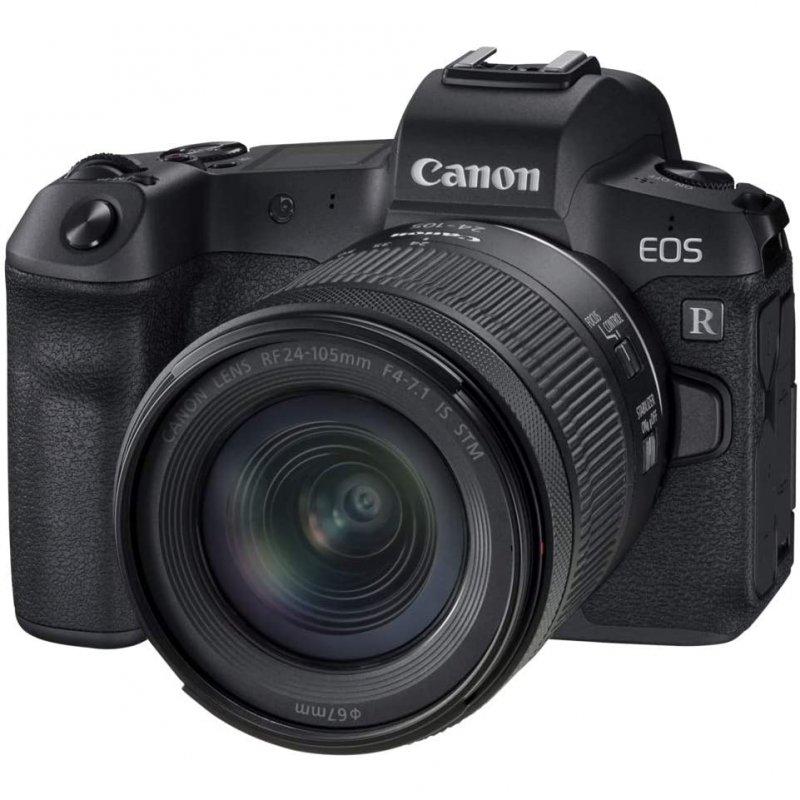 Canon EOS R 30.3MP WiFi + Objetivo RF 24-105mm F4-7.1 IS STM
