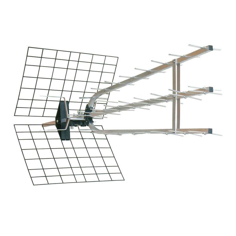 metronic antena tv exterior 45db 694mhz