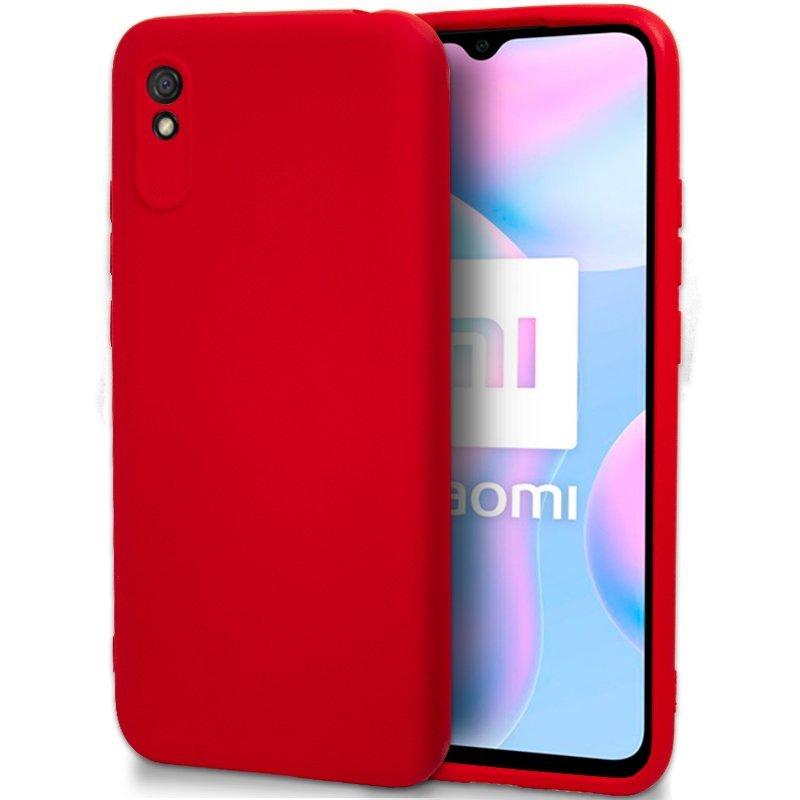 Cool Carcasa Silicona Roja Para Xiaomi Redmi 9A/9AT