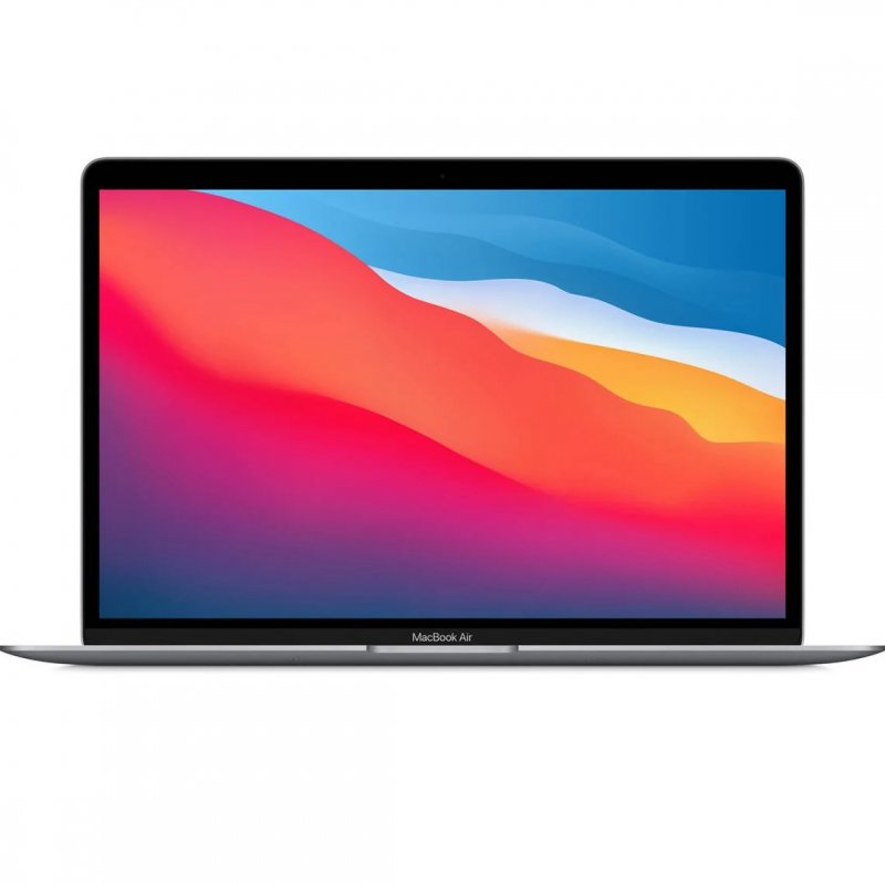 "Portátil Apple MacBook Air Apple M1/8GB/256GB SSD/GPU Hepta Core/13.3"" Gris Espacial"
