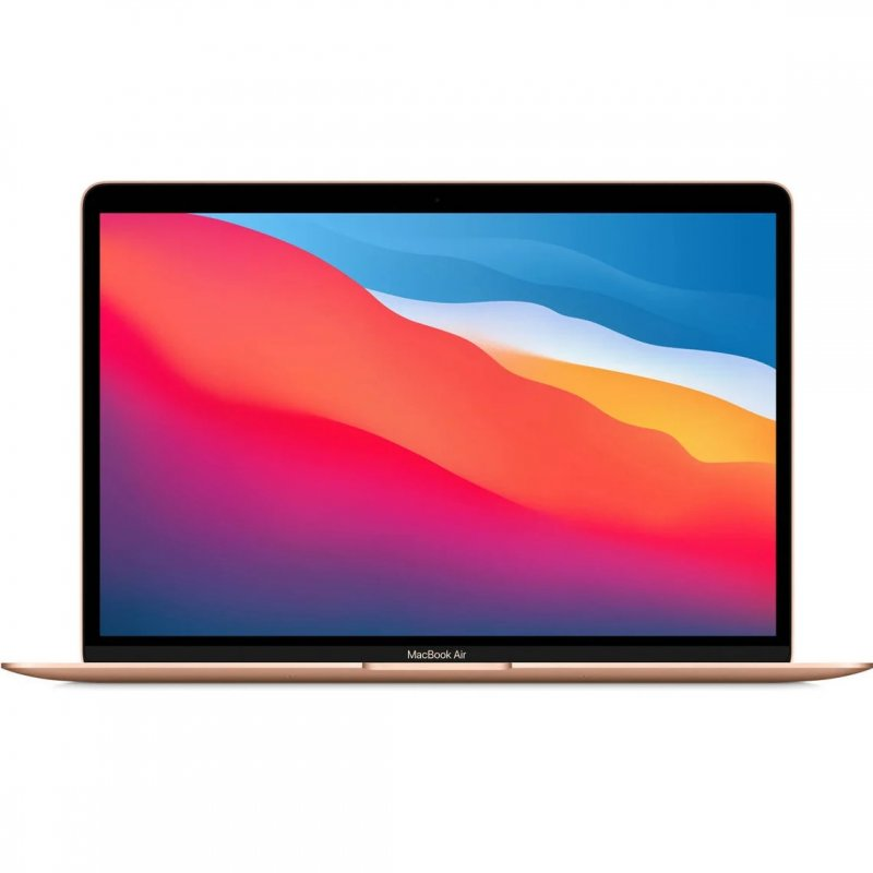 "Portátil Apple MacBook Air Apple M1/8GB/256GB SSD/GPU Hepta Core/13.3"" Dorado"