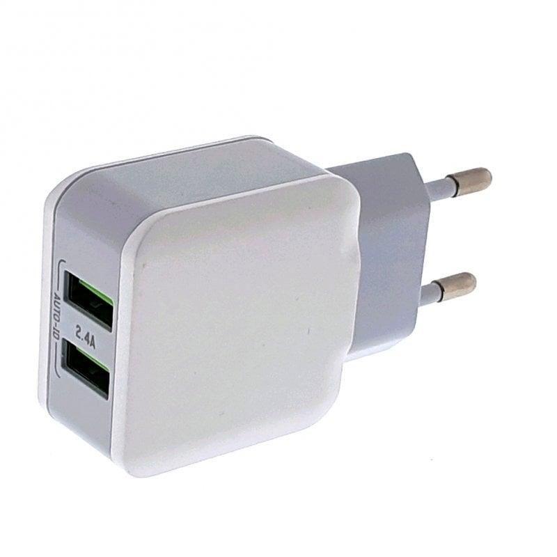 Osca Connect OCA2202 Cargador 2 USB 2.4A 12W