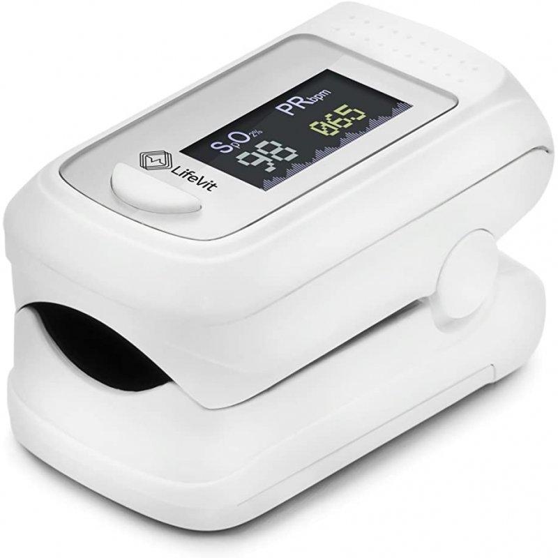 LifeVit OL-750 Pulsioxímetro Inteligente Bluetooth