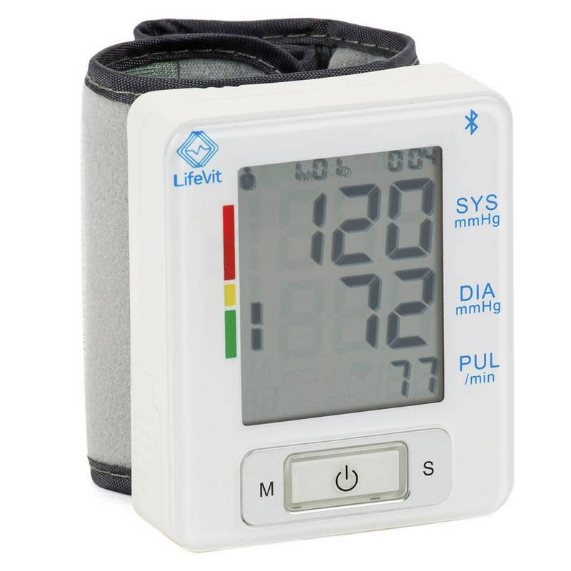 LifeVit BPM-150 Tensiómetro de Muñeca Inteligente Bluetooth