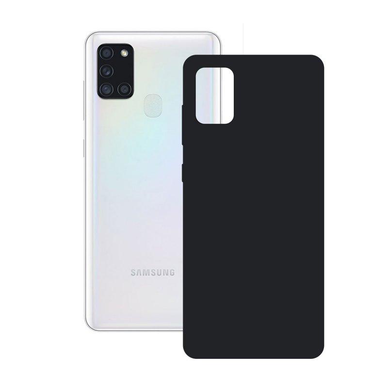 Ksix Funda Silk Negra para Samsung Galaxy A21S