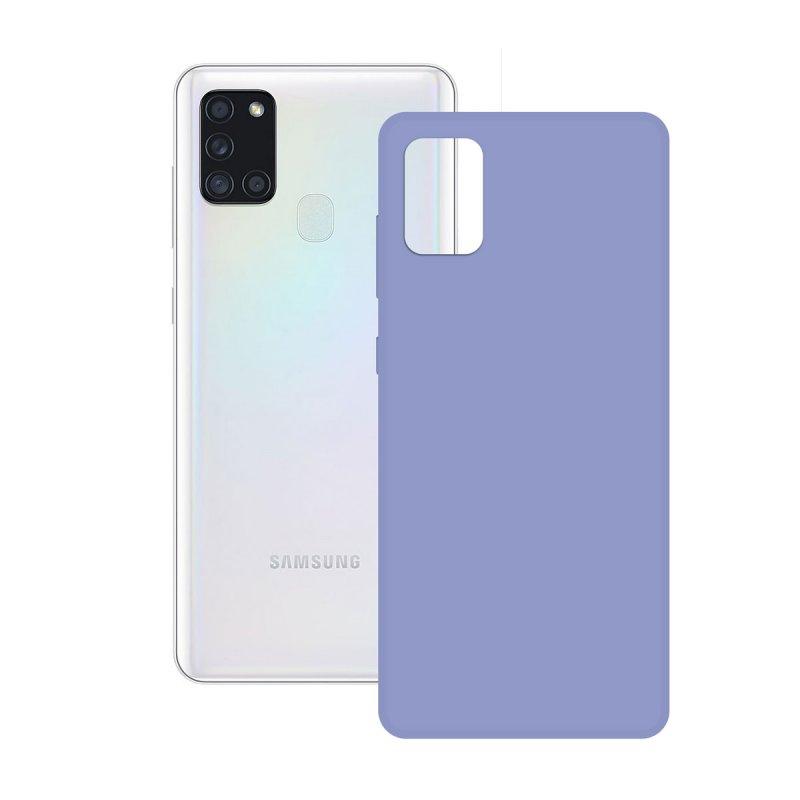 Ksix Funda Silk Lavanda para Samsung Galaxy A21S