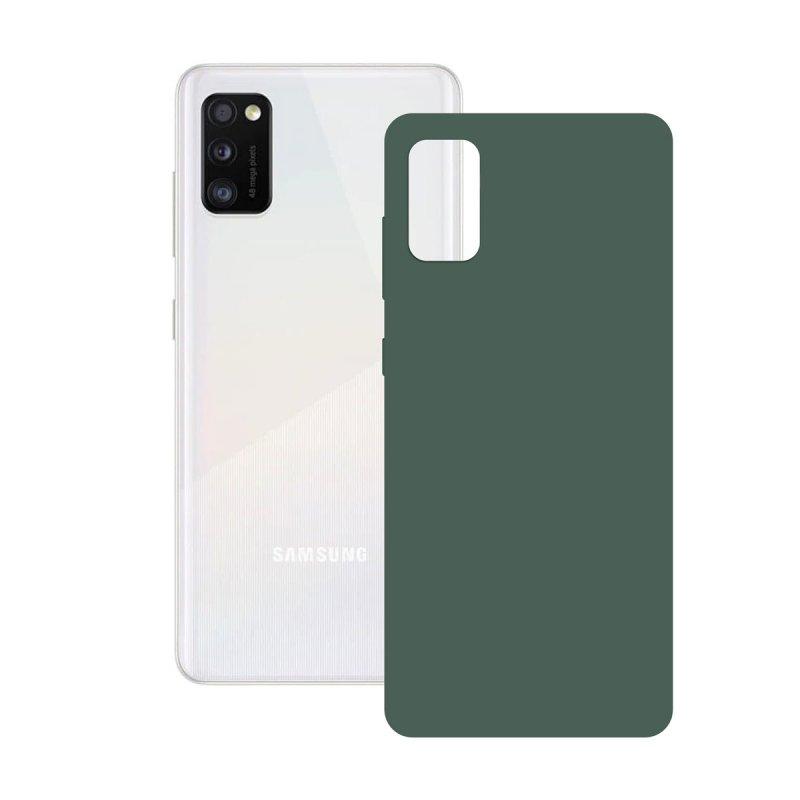 Ksix Funda Silk Verde para Samsung Galaxy A41