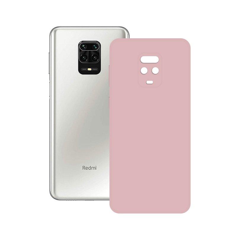 Ksix Funda Silk Rosa para Xiaomi Redmi Note 9 Pro/Note Pro 9s