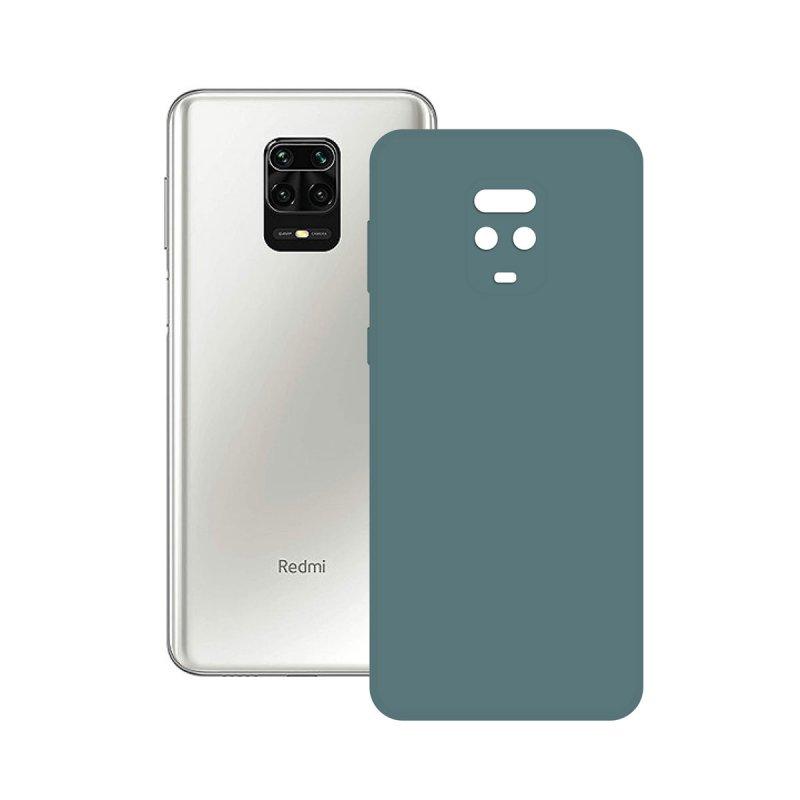 Ksix Funda Silk Verde para Xiaomi Redmi Note 9 Pro/Note Pro 9s