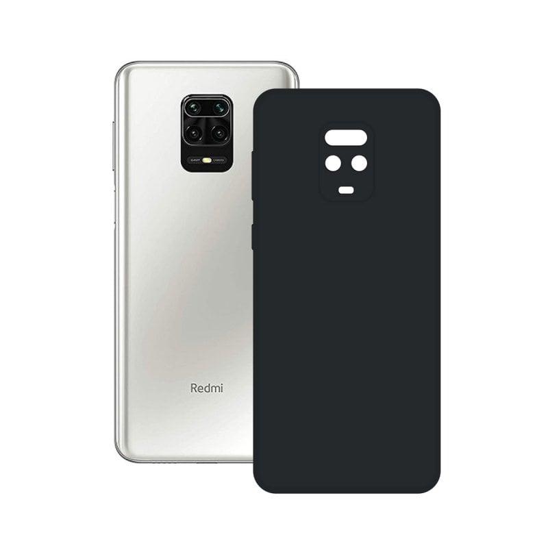 Ksix Funda Silk Negra para Xiaomi Redmi Note 9 Pro/Note Pro 9s